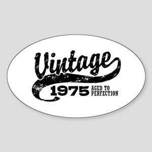 Vintage 1975 Sticker (Oval)