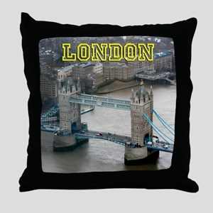 Tower of London Pro Photo Throw Pillow