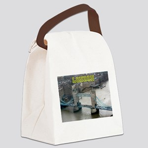 Tower of London Pro Photo Canvas Lunch Bag