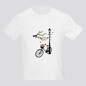 Old vintage bicycle with tree T-Shirt