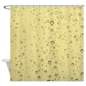 Water Droplet Shower Curtains