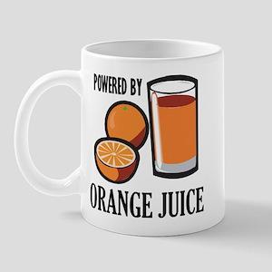 Powered By Orange Juice Mug