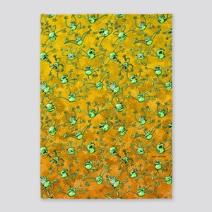 Frog Festival 5'x7'Area Rug