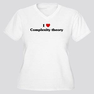 I Love Complexity theory Women's Plus Size V-Neck
