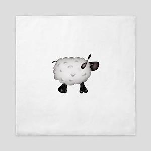 Country Sheep Queen Duvet