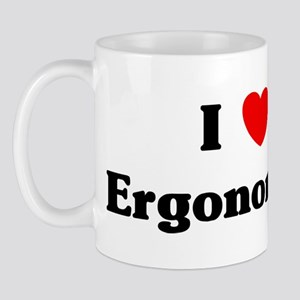 I Love Ergonomics Mug