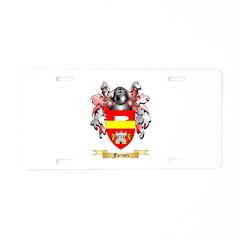 Farinez Aluminum License Plate