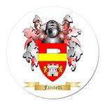 Farinetti Round Car Magnet