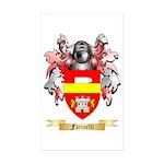 Farinelli Sticker (Rectangle 50 pk)