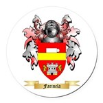 Farinela Round Car Magnet