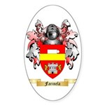Farinela Sticker (Oval)