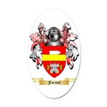 Farinel Oval Car Magnet