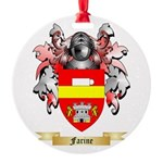Farine Round Ornament