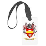 Template Large Luggage Tag