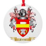 Farina Round Ornament