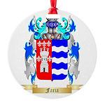 Faria Round Ornament