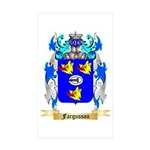 Fargusson Sticker (Rectangle 10 pk)