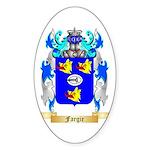 Fargie Sticker (Oval)