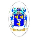Fargie Sticker (Oval 50 pk)