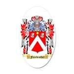 Farebrother Oval Car Magnet