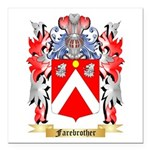 Farebrother Square Car Magnet 3