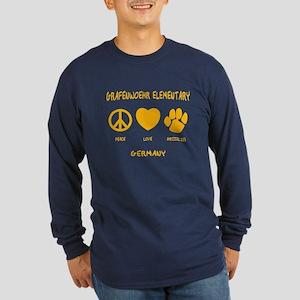 Peace, Love, Grizzlies Long Sleeve T-Shirt