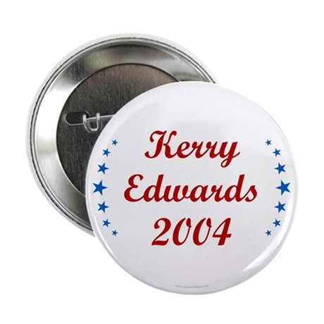 Kerry Edwards 2004. Button
