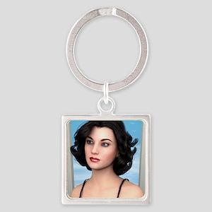 Vintage Woman Keychains