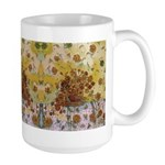 Roses Of Conquest Large Mug