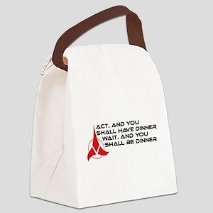 klingonact-01 Canvas Lunch Bag