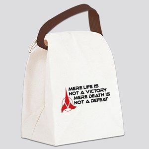 klingonmerlife-01 Canvas Lunch Bag