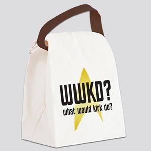 wwkd-01 Canvas Lunch Bag
