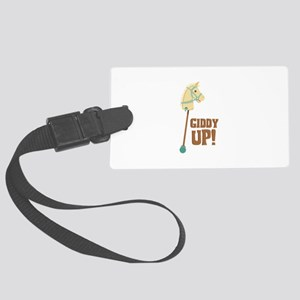 Giddy Up! Luggage Tag