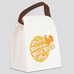 cluckity Canvas Lunch Bag