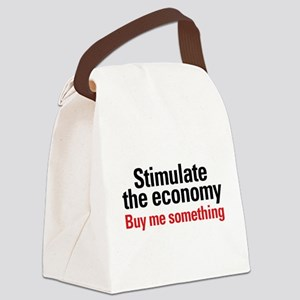 stimulate Canvas Lunch Bag