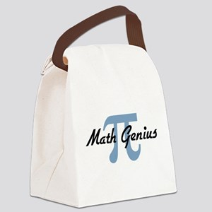 mathgenius Canvas Lunch Bag