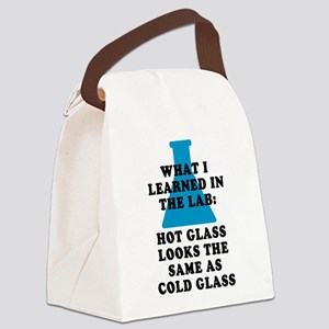 Lab Glass Canvas Lunch Bag