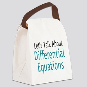 diffequation Canvas Lunch Bag