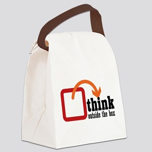 outside Canvas Lunch Bag