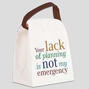 lack Canvas Lunch Bag