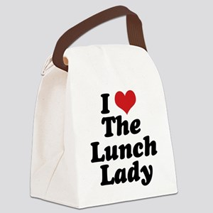 lunchlady Canvas Lunch Bag