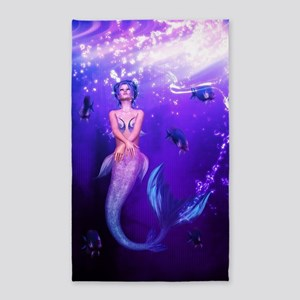 Rainbow Mermaid 3'x5' Area Rug
