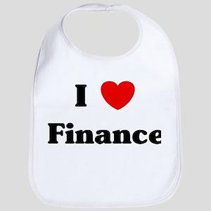 I Love Finance Bib