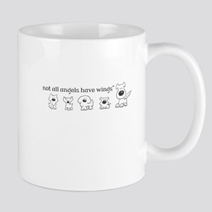 Not all angels have wings - plural Mugs