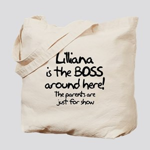Lilliana is the Boss Tote Bag