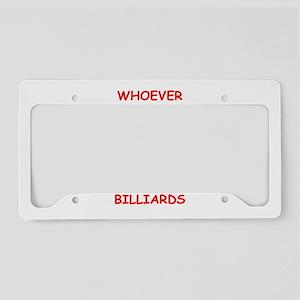 BILLIARDS2 License Plate Holder