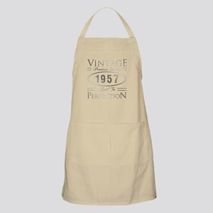 Vintage 1957 Birthday Light Apron
