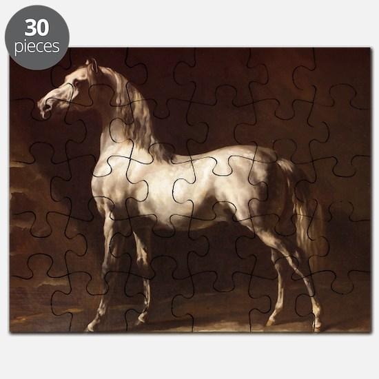 White Arabian Horse Puzzle