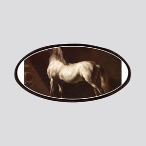 White Arabian Horse Patches