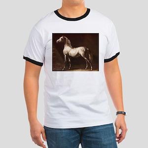 White Arabian Horse T-Shirt